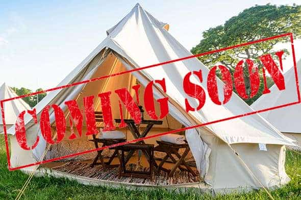 2/3 Person Glamping Tent - British MotoGP