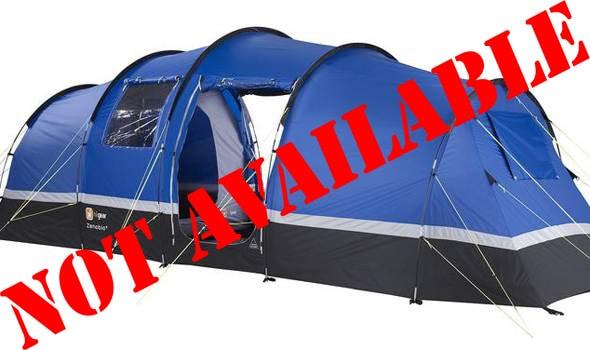 4/5 Person Standard Tent - British F1 Grand Prix