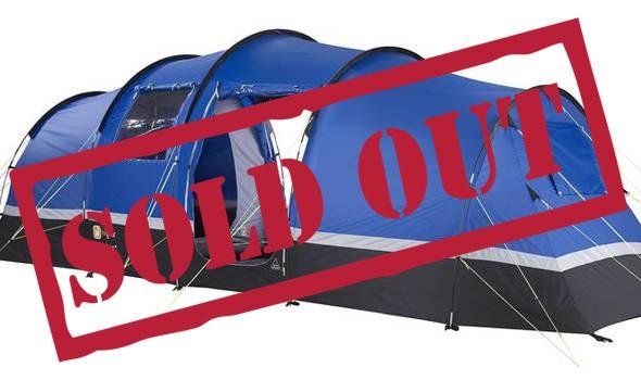 4/5 Person Standard Tent - British MotoGP