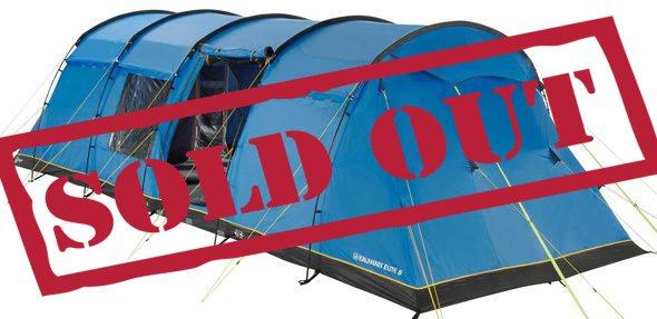 8 Person Standard Tent - British F1 Grand Prix