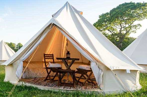 2 Person Glamping Tent - Cowes Week