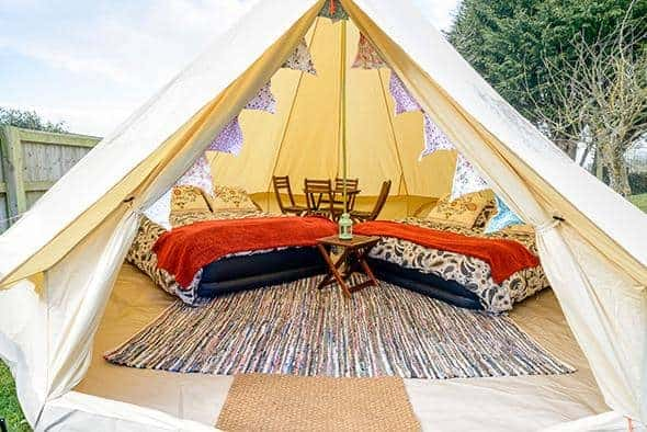 4 Person Glamping Tent - Cowes Week