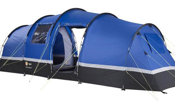 4/5 Person Standard Tent - Belgian F1 Grand Prix