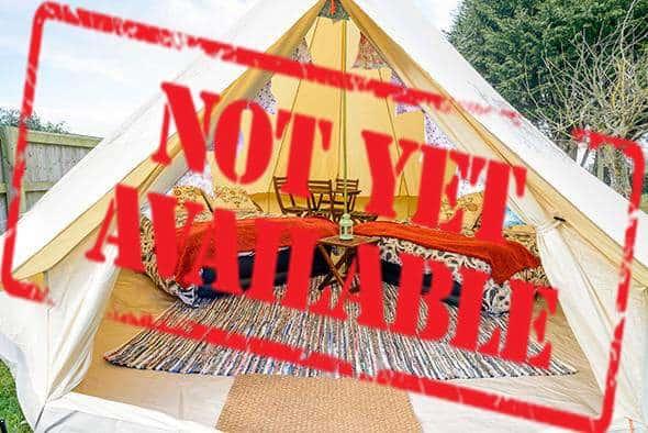 4/5 Person Glamping Tent - British MotoGP