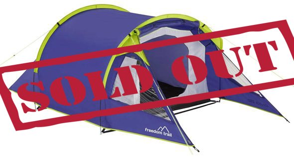 2 Person Budget Tent - British F1 Grand Prix