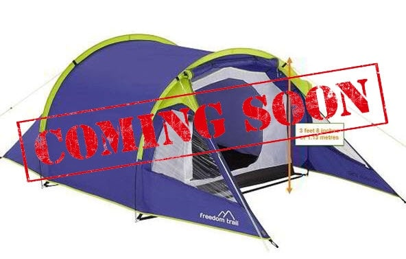 2 Person Budget Tent - British F1 Grand Prix
