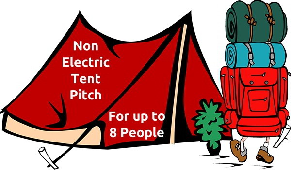 Camping Pitch (non electric) - Cowes Week