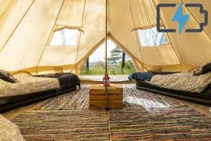 4p-glamping-4-single-beds-2-power