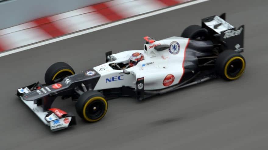 2012 F1 Canadian Grand Prix Kamui Kobayashi Sauber