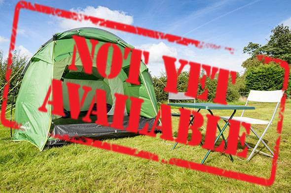 2 man standard tent not yet available