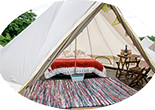 F1 2 person glamping bell tent
