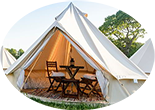 Spa F1 2 person glamping bell tent