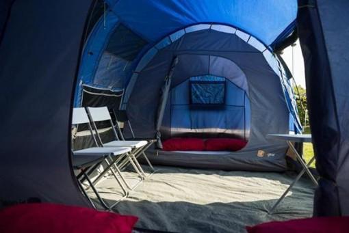 4 person tent interior
