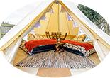 IOM TT 4 person glamping bell tent