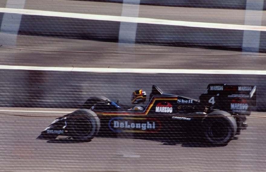 Stefan Bellof in the 1984 Tyrrell
