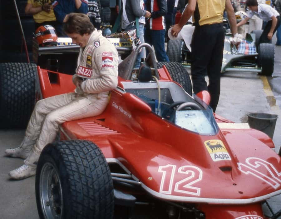 Gilles Villeneuve at Imola 1979