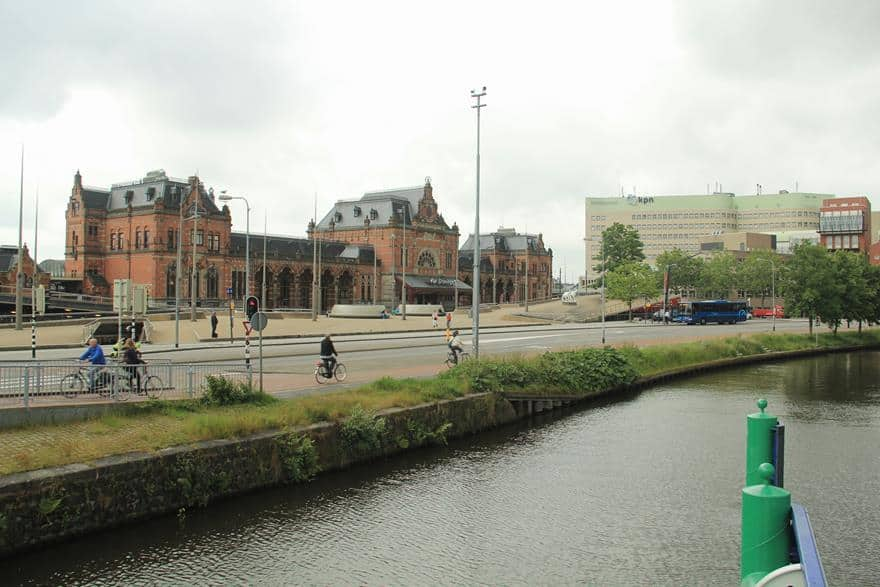 Groningen train station area