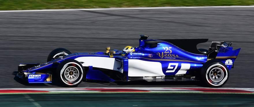 Sauber F1 C36 2017 Marcus Ericsson Barcelona Test