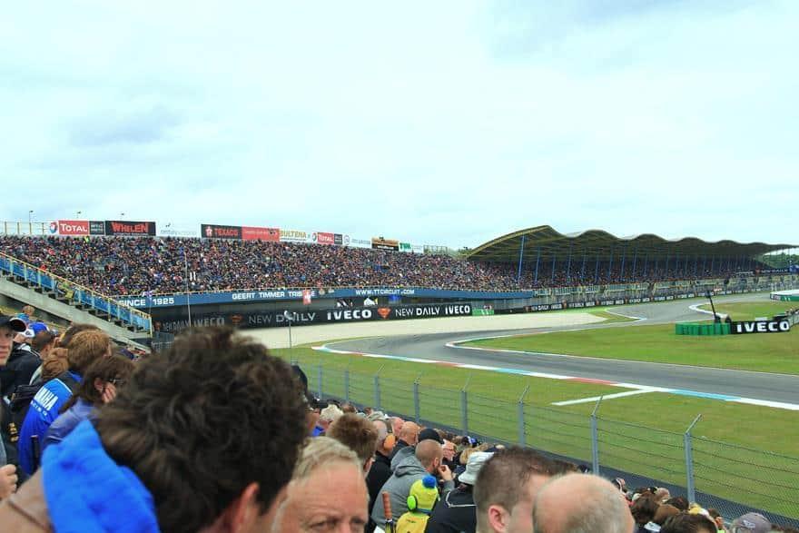 Winterdijk stand Assen circuit