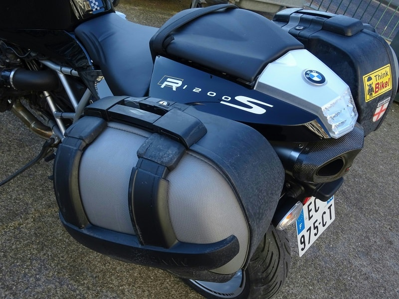 motorcycle panniers