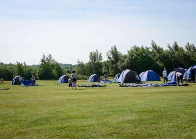 British F1 Grand Prix campsite with intentsGP