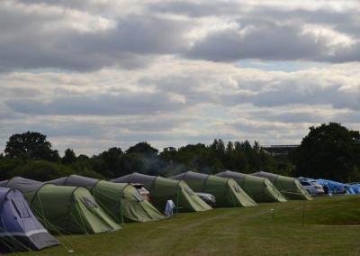 British F1 Grand Prix Camping with intentsGP