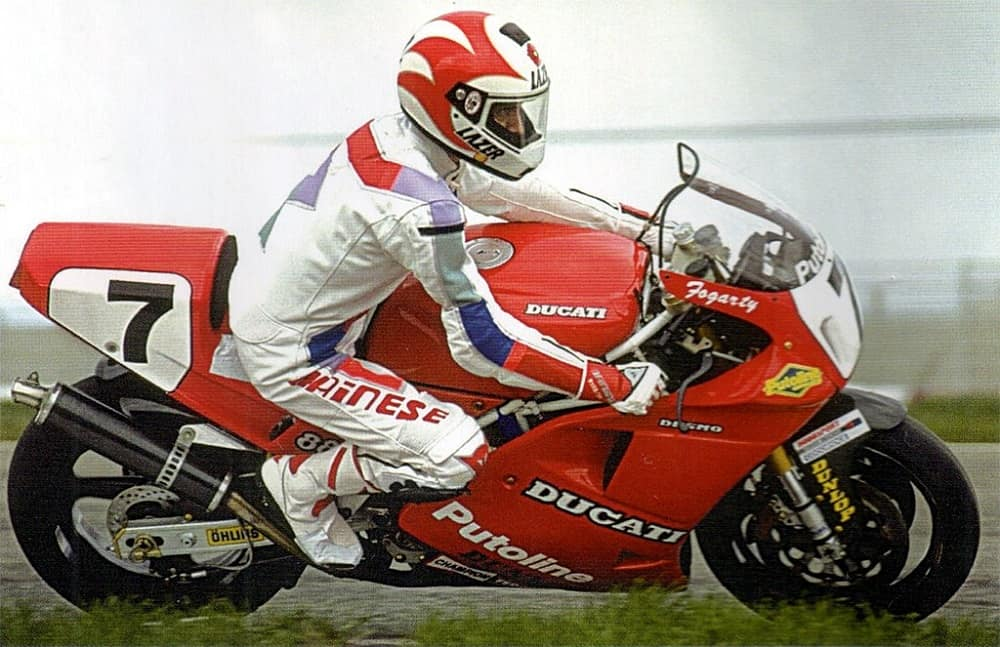 Carl Fogarty WSB 1992 Mugello