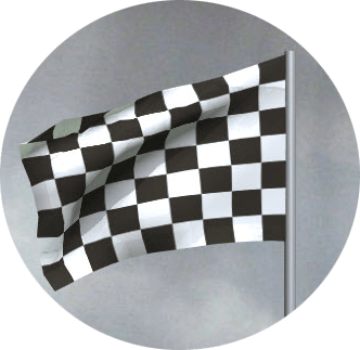 MotoGP chequered flag
