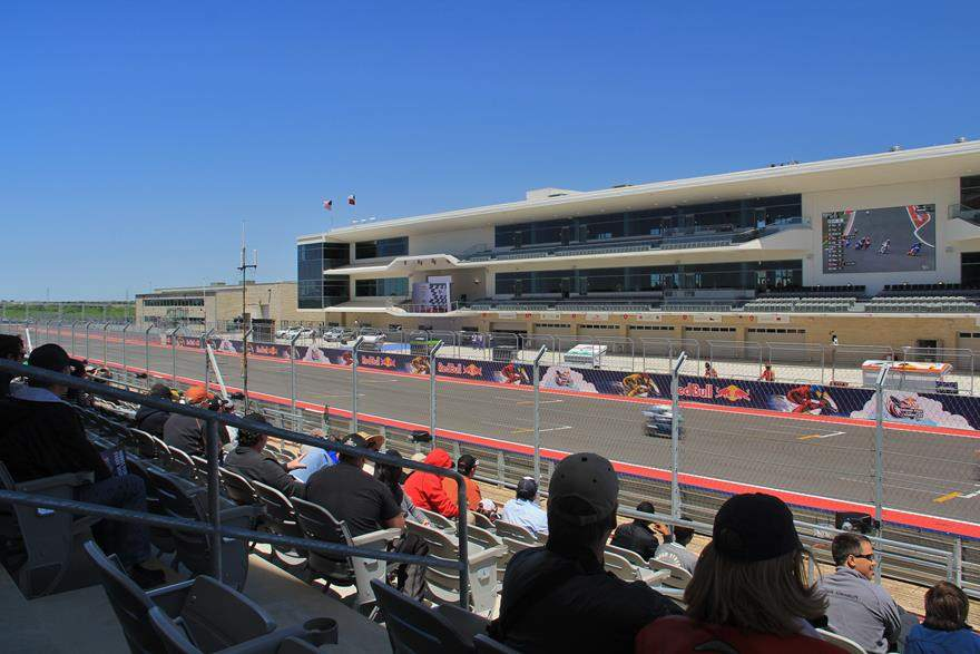 COTA main grandstand seating