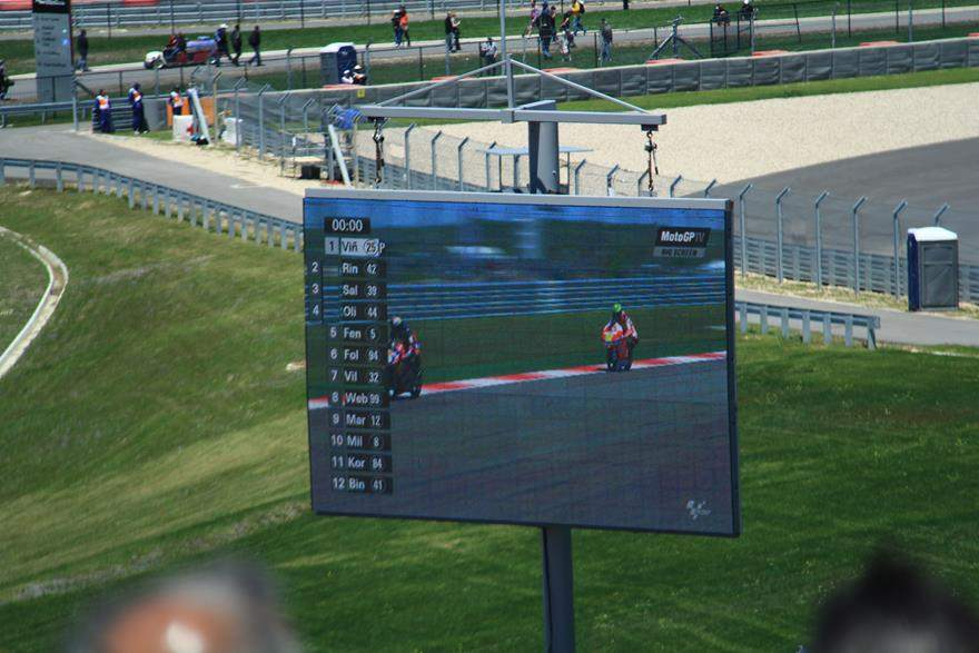 COTA TV screen