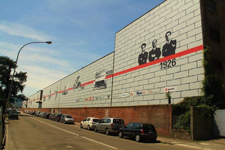 Ducati factory exterior