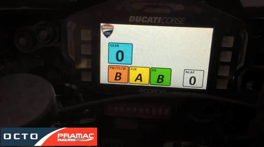 Ducati screen