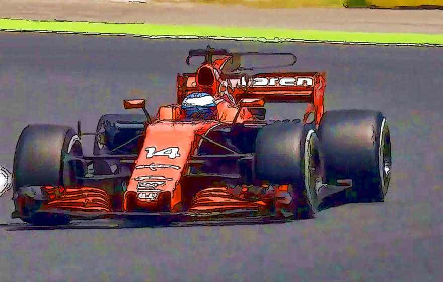 Fernando Alonso Spanish F1GP 2017 Art