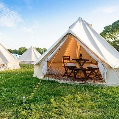 Isle of Man TT 2 person glamping tent