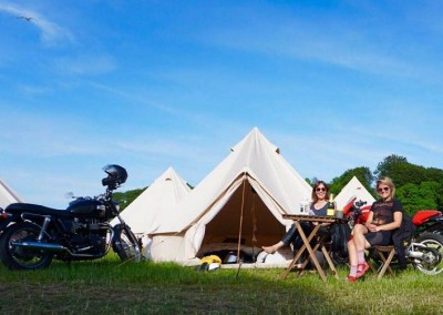 intentsGP camping and glamping for the isle of Man TT