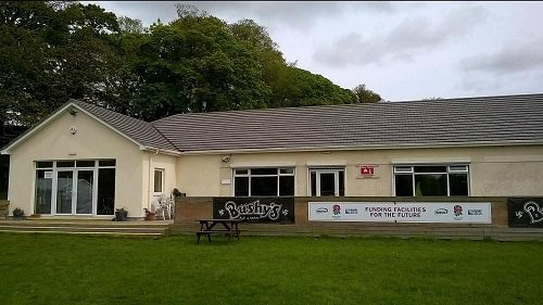 Isle of Man TT Clubhouse available for all intentsGP pre erected camping customers