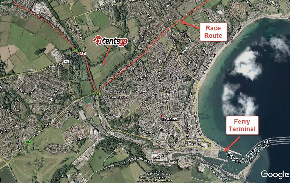 intentsGP location for the Isle of Man TT