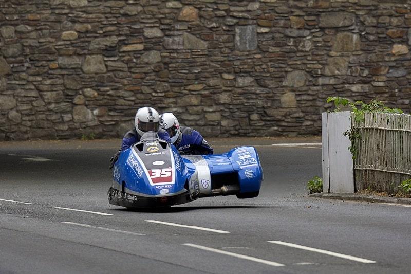 isle of man tt sidecar racing