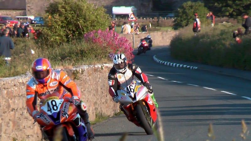 isle of man tt racing photo