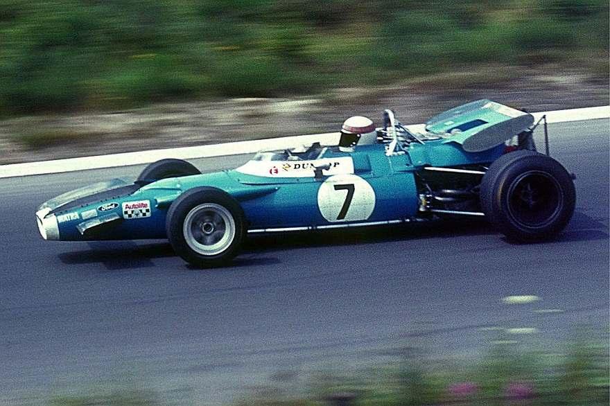 Jackie Stewart 1969 Tyrrell Matra Ford