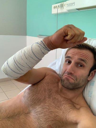 johann zarco arm pump surgery 2021