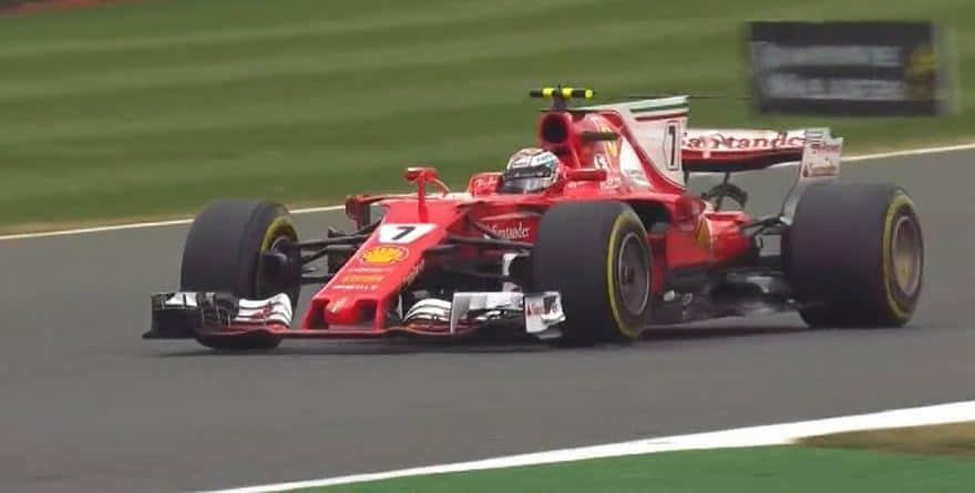 kimi raikkonen ferrari british grand prix 2017