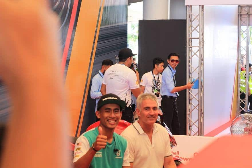 Mick Doohan at Sepang