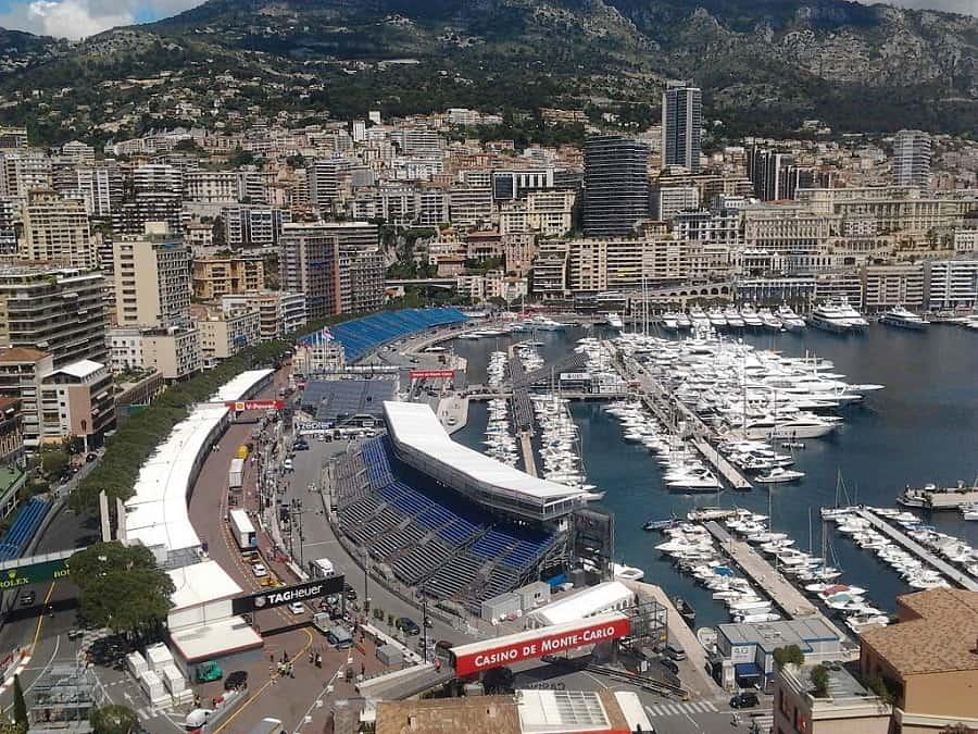 Monaco f1 Grand Prix Harbour