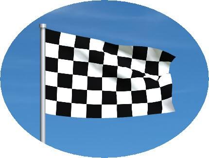 checkered flag motogp