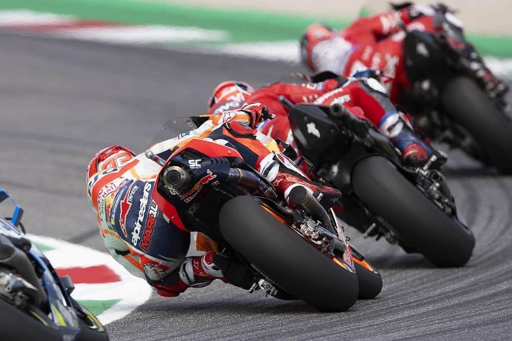 MotoGP cornering