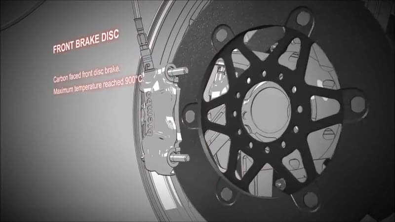 motogp fron brake disc