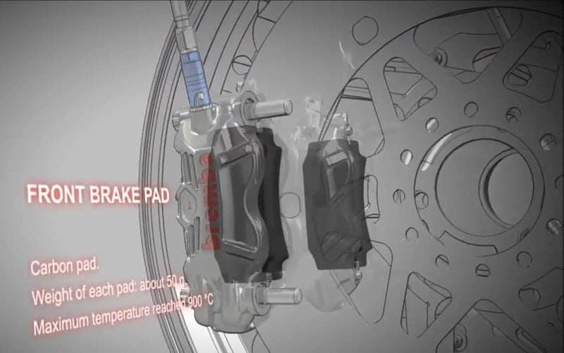 motogp front brake pad