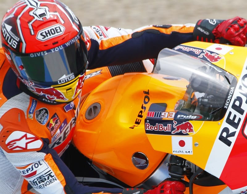 Marc Marquex MotoGP fuel tank