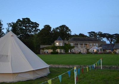 intentsGP campsite at Whittlebury for the British Silverstone MotoGP